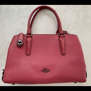Pink Coach Purse 👛